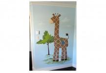 Toys Mural Giraffe