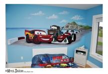 Cars 2 Murals