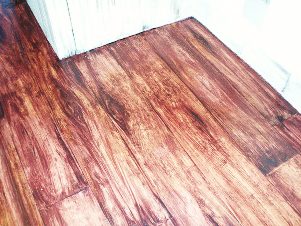 Faux wood floor for Faux wood flooring