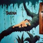 Tarzan Mural