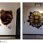 Boston Bruins Murals