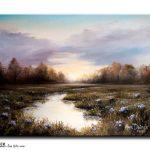 #1718 Evening Reflections ~SOLD/VENDU~
